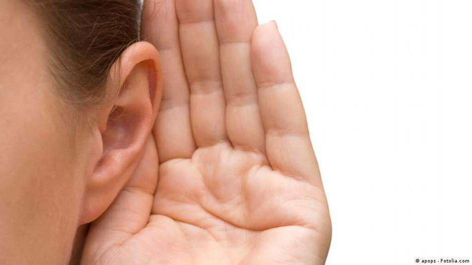Listen up! Even humans can point their ears toward sounds   DW   14.07.2020