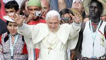 Weltjugendtag - Besuch Papst Benedikt XVI.