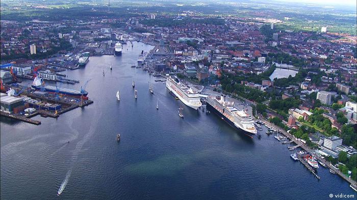 Кадр из фильма Балтийское море сверху