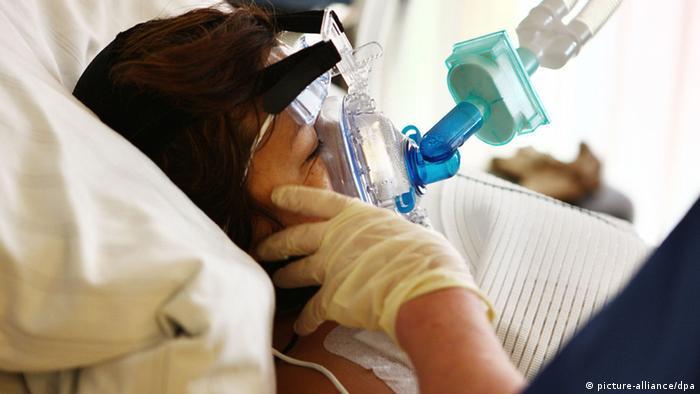 Intensivstation der Herzchirurgie (picture-alliance/dpa)