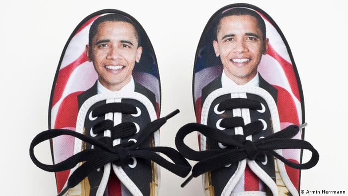 Keds children's sneakers with an Obama print design