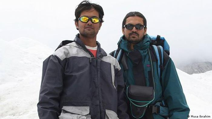 Musa Ibrahim und Sajal Khaled Mount Everest