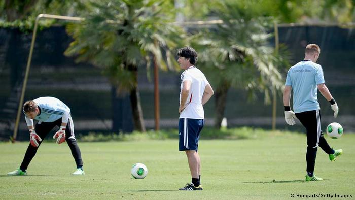 Trainingslager der Fußballnationalmannschaft in Florida (Foto: Getty Images)