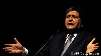 Alan García, presidente de Perú en dos períodos no consecutivos (1985-1990 y 2006-2011).
