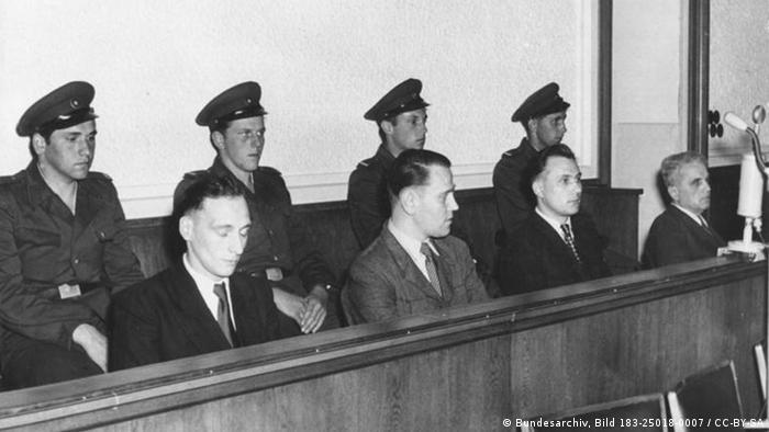 Prozess gegen Aufständische vom 17. Juni 1953