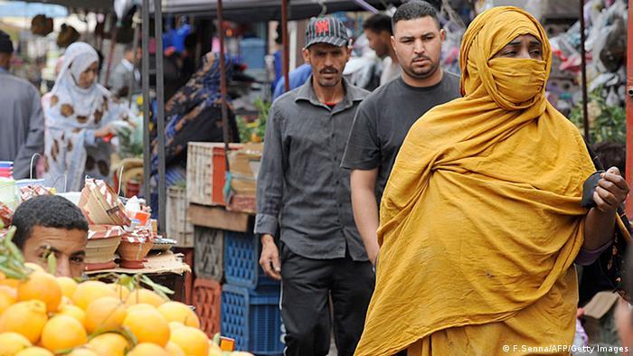Markt Marokko Menschen