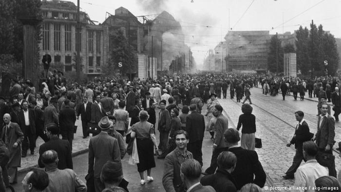 Deutschland Geschichte DDR Aufstand 17. Juni Berlin Leipziger Platz