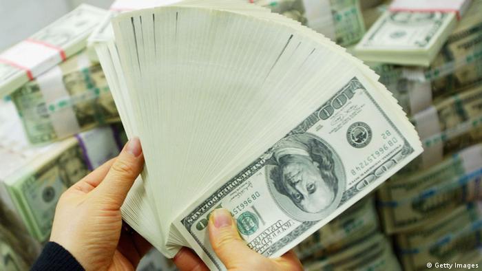 Symbol Geldwäsche USA