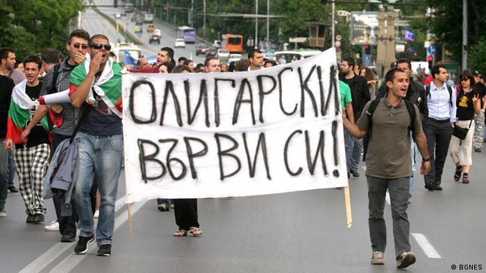 Proteste gegen Plamen Oresharski Kandidat Premierminister Bulgarien