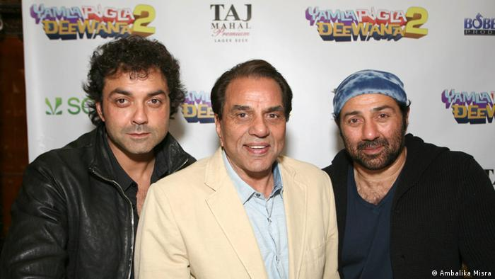 Präsentation Film Yamla Pagla Deewana 2 in New York (Ambalika Misra)