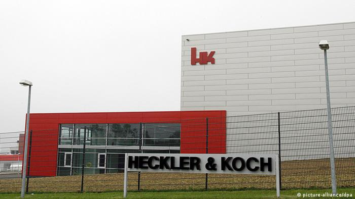 The H&K factory in Oberndorf on the Neckar
