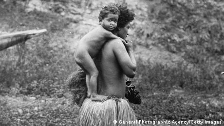 Papua-Neuguinea 1933 Indigene Kolonialismus