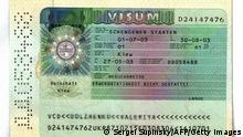 Ukraine Reisepass Pass Visum Schengen