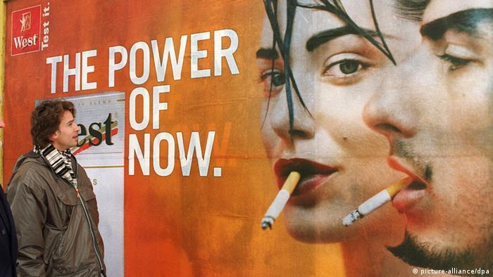 табачные изделия в наружной рекламе