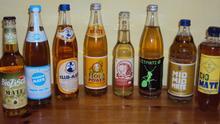 Verschiedene Mate-haltige Erfrischungsgetränke aus Deutschland***Quelle: Public Domain (http://commons.wikimedia.org/wiki/File:MateBrands.JPG)