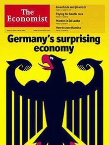 Titelbild des Economist vom August 2005