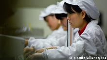 Foxconn Angestellte Fabrik Apple IPhone China