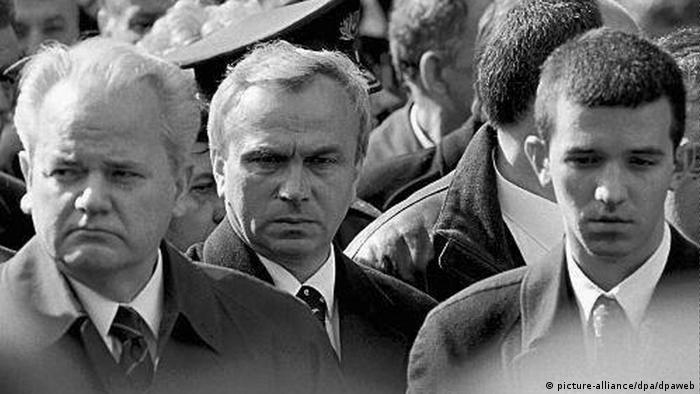 Slobodan und Marko Milosevic und Stanisic