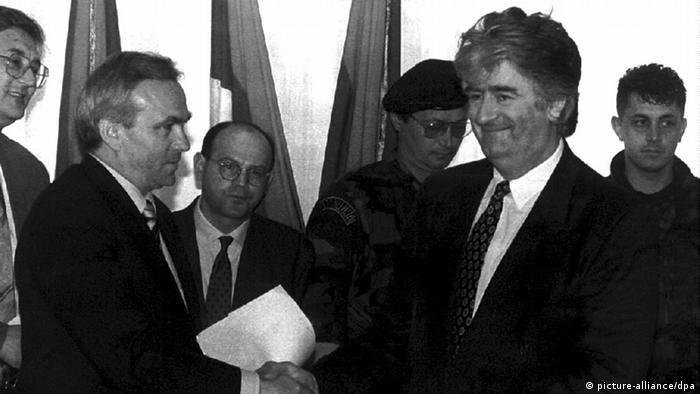 Serbien Bosnien Karadzic Stanisic