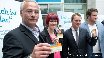 До нової кампанії з популяризації донорства залучили відомих німецьких спортсменів, акторів та політиків