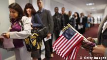 USA New York Immigranten