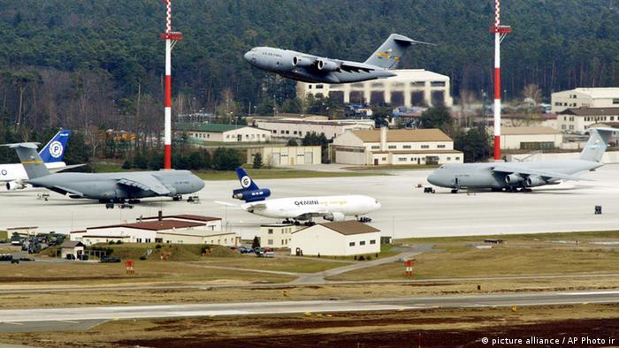 Flugzeuge starten und landen auf der Ramsteiner US-Militärbasis (Foto: ap)
