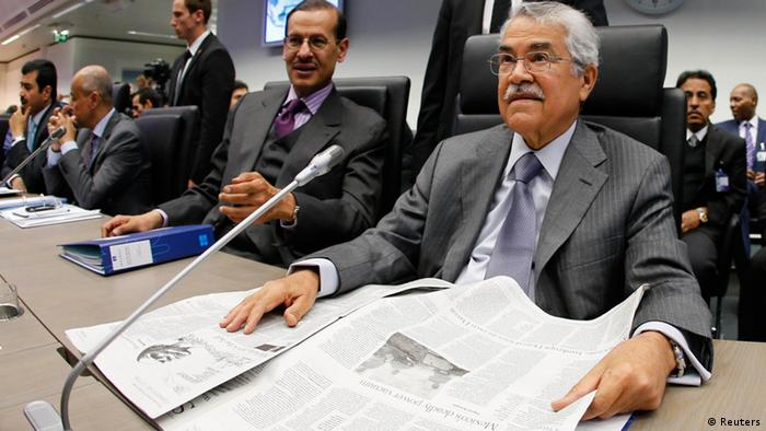 Saudi Arabian Oil Minister Ali al-Naimi. REUTERS/Leonhard Foeger