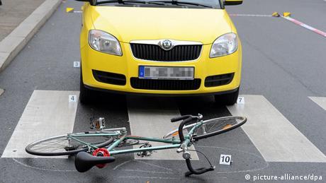 Fahrrad Unfall Verkehr