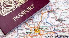 Symbolbild Schengener Abkommen Visum Europa Reisefreiheit