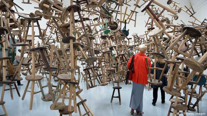 Ai Weiwei installation Biennale 2013 (AFP/Getty Images)