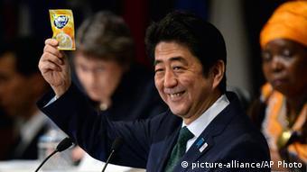 Para o primeiro-ministro japonês, Tokio Shinzo Abe, África será o centro do crescimento nas próximas décadas