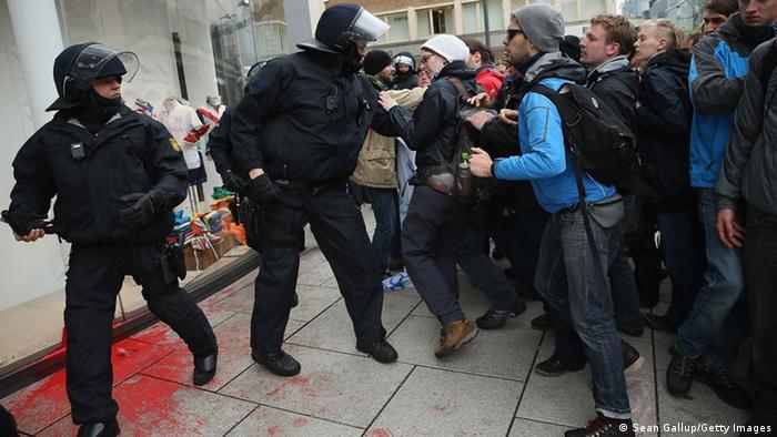 Deutschland Frankfurt Demo der Blockupy Bewegung (Sean Gallup/Getty Images)