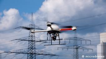 Eine Drohne der Firma Microdrones (Foto: Microdrones)