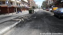 DW besucht die Front im libanesischen Tripoli