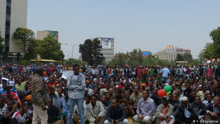 Demo in Addis Abeba