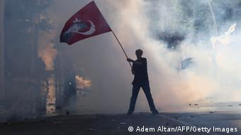 موج اعتراضات در ترکیه علیه رجب طیب اردوغان در ژوئن ۲۰۱۳