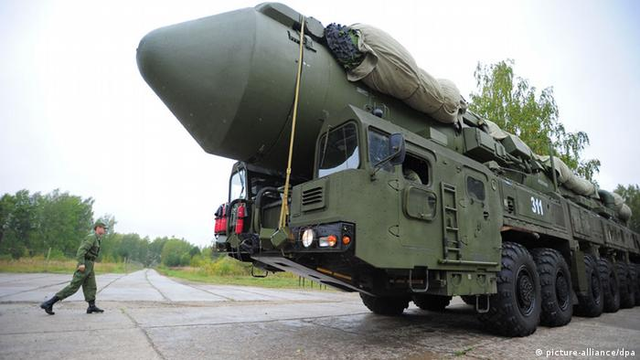 Russische RS-24-Rakete (Foto: picture alliance)
