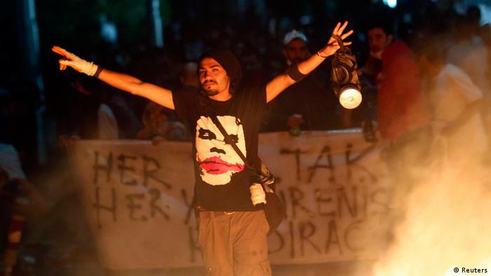 Türkei Proteste Regierung Ankara