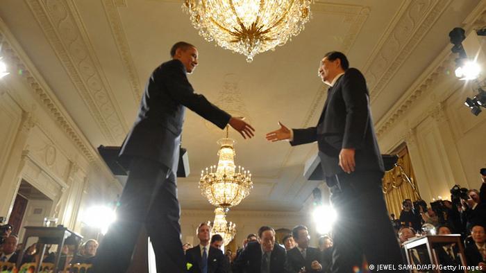 China USA Gipfeltreffen Barack Obama und Hu Jintao