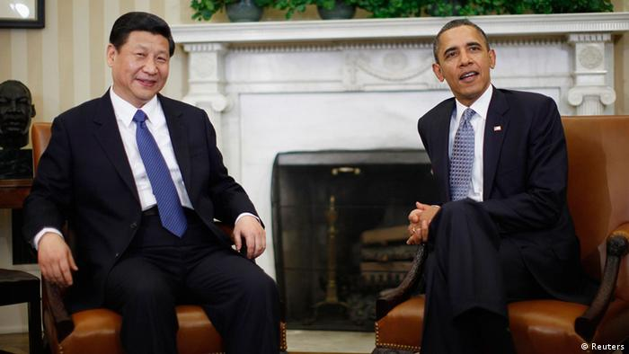 China USA Gipfeltreffen Barack Obama und Xi Jinping Foto: Reuters / Jason Reed