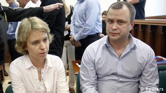 Anna Politkovskaya's children Vera und Ilya in court, June 2013. (Photo: REUTERS/Maxim Shemetov)
