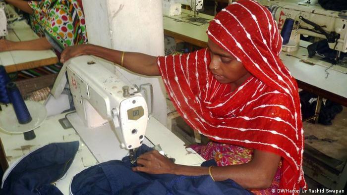 Bangladesch Näherinnen bei der Arbeit