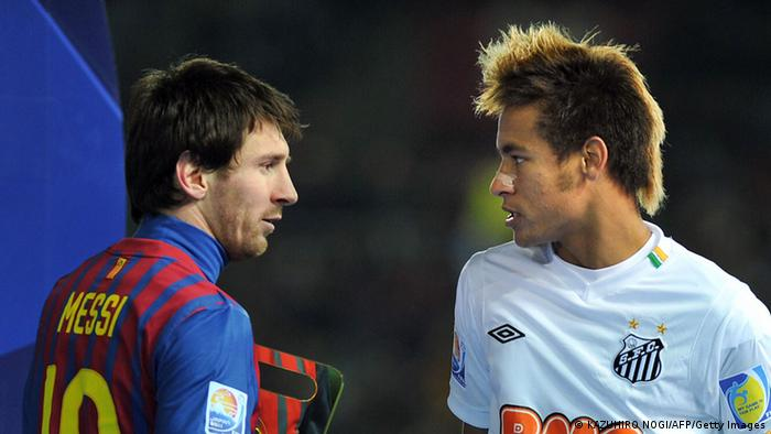Lionel Messi (links) und Neymar (rechts) (Foto: Getty)