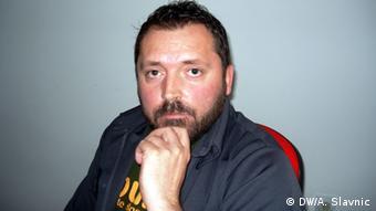Bosnien und Herzegowina Deutsche Produkte Professor für Soziologie Dragan Bursac (DW/A. Slavnic)