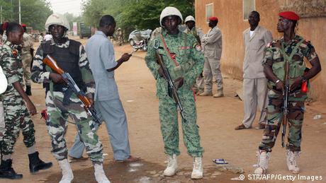 Niger Niamey Gefängnis Revolte (STR/AFP/Getty Images)