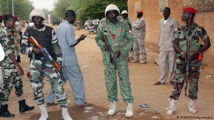 Niger Niamey Gefängnis Revolte (STR/AFP/Getty Images)