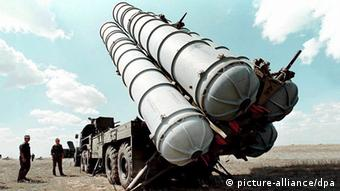 Russian S-300 air defence missiles (photo: EPA/dpa)