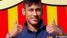 Neymar in Barcelona eingetroffen