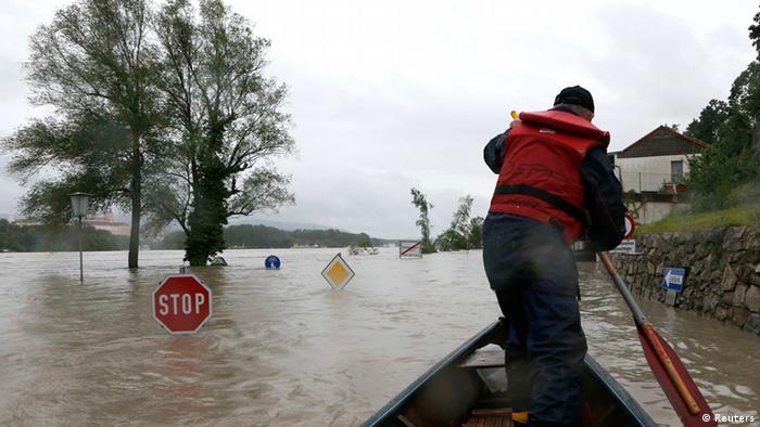 Во время наводнения 2013 года.