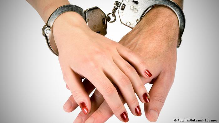 Symbolbild Gefangene der Liebe gefangen Band Verbindung